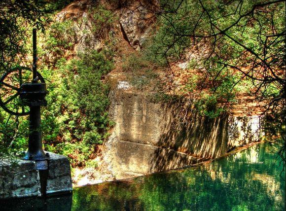 Waterfall in Epta Piges