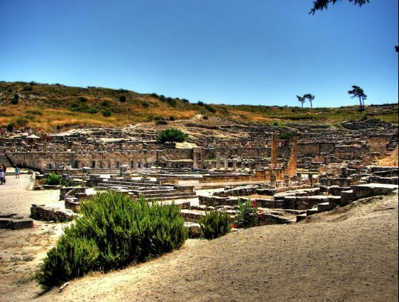 Ruins of Old Kamiros