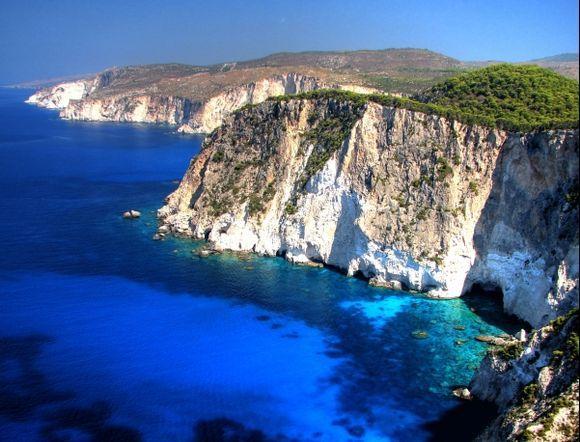 Keri cliffs