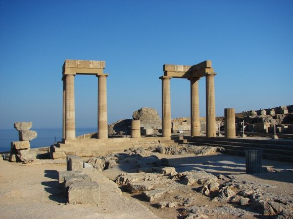 In the Acropolis
