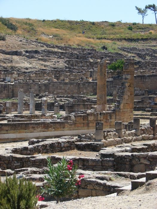Ruins of the church and agora