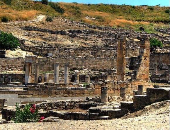 Ruins of the temple