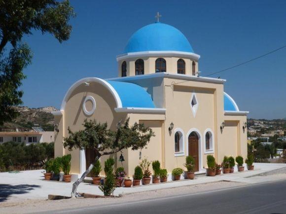 Super Church close to Kefalos Village,Kos