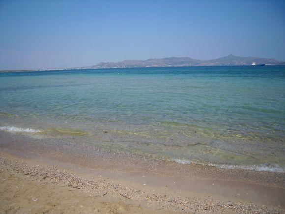 crystal clear water skala beach
