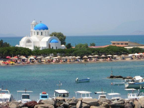 skala church and beach