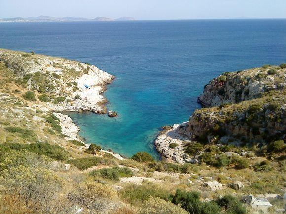 Varkiza, cute & beautifull small bay