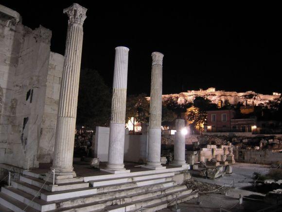 Library of Hadrian, Monastiraki, Athens.