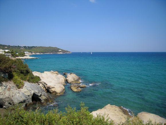 Somewhere around the Agia Marina