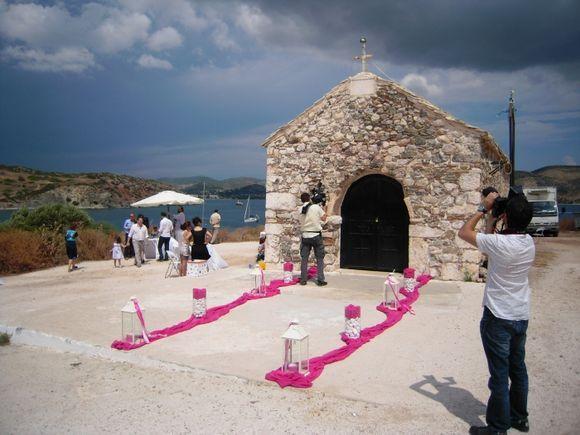 St.Nicholas church at Anavissos.