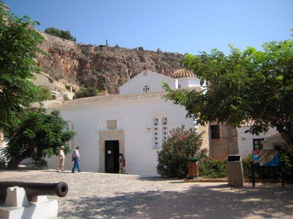 Monemvasia, elkomenos church