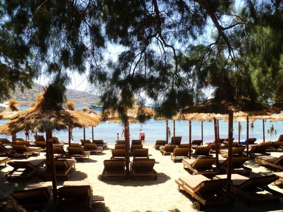 Lovely beach of Koundouros