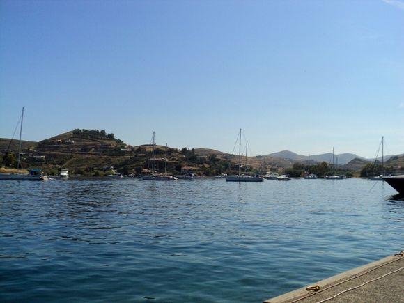 Small port of Vourkari
