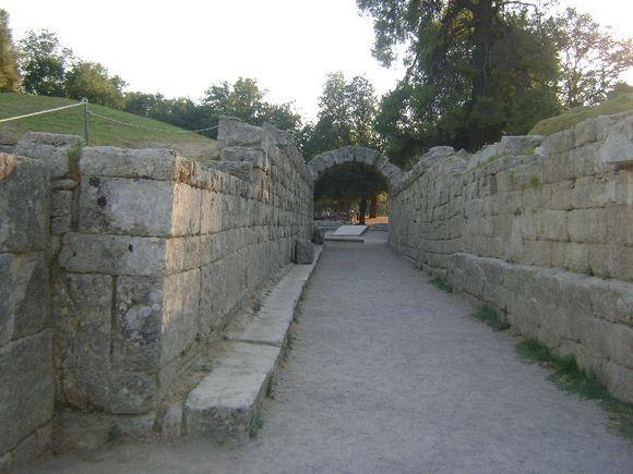 The Stadium of Olympia