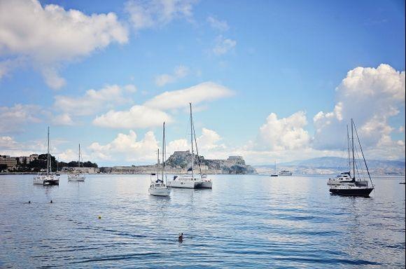 Summer in Kerkyra, Corfu