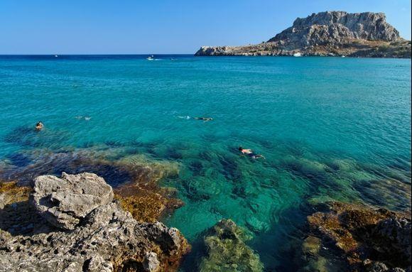 SEA, ROCKS, ACROPOLIS