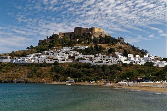 Lindos , Acropolis