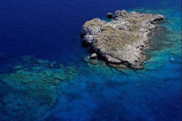 AEGEAN SEA  IN LINDOS