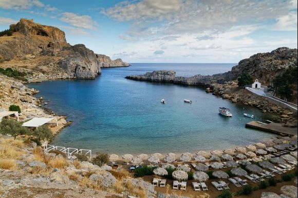 Lindos in the end of October ..It is wonderful to be there