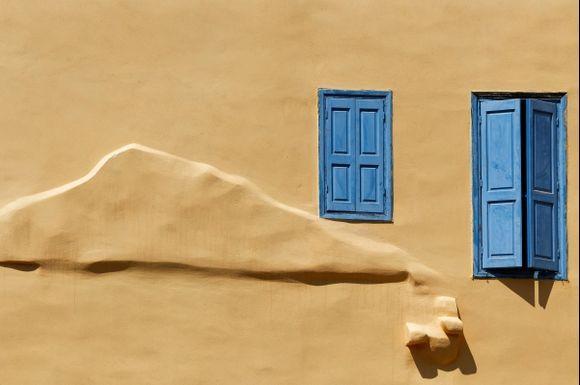 Windows in Kastellorizo