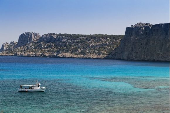Psaltos Bay (Navarone bay)