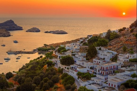 Lindos early in the moring