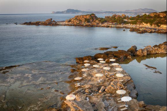 Tassos Beach and Nicolas beach