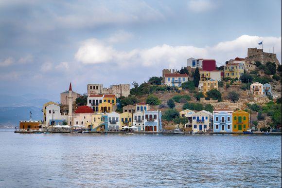 Kastelorizo , the greek island in the east of Rhodes