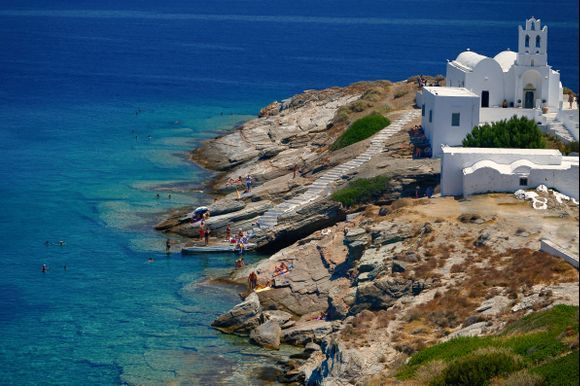 A well known Monastery in the fabulous island of Sifnos
