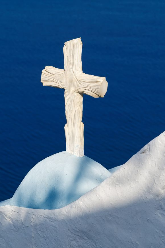 A well known cross in Astypalea
