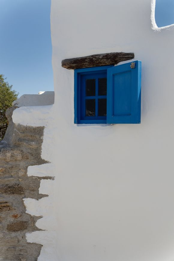A strange house in Lachania