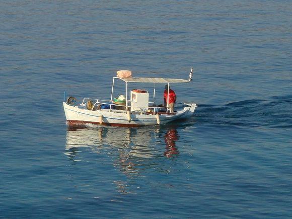 Fisherboat Aegina.