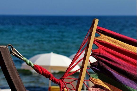 Colors of Glyfada Beach