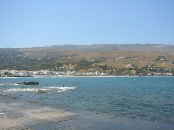 Hora; a view from the sea