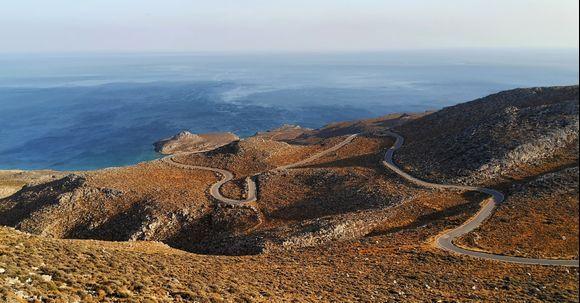 Road to Xerokampos