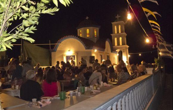 Fiesta near Menetes