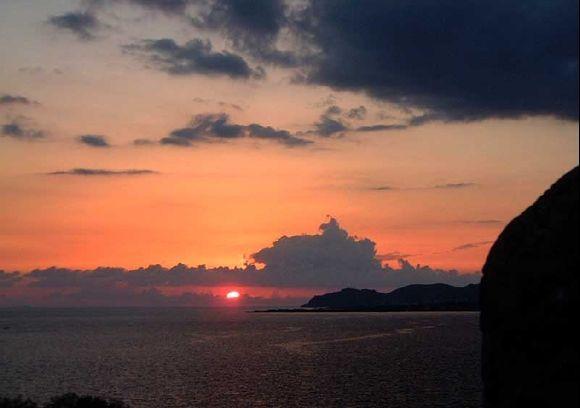 Sunset in Paleochora